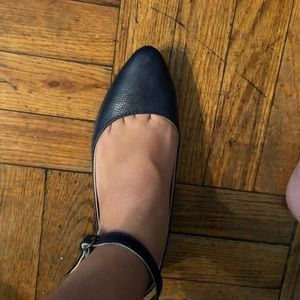 Old Navy Shoes - Old Navy navy blue flats